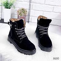 Ботинки женские Extee черные , женская обувь