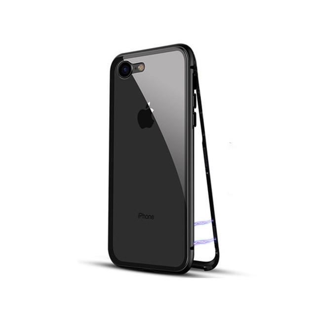 Магнитный чехол Full Glass 360 (Magnetic case) для Iphone 7 / 8