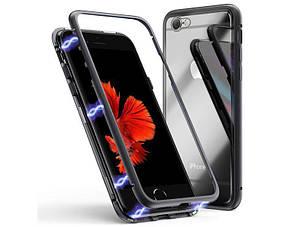 Магнитный чехол Full Glass 360 (Magnetic case) для Iphone 7 / 8, фото 2