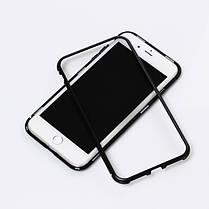 Магнитный чехол Full Glass 360 (Magnetic case) для Iphone 7 / 8, фото 3