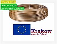 Труба для тёплого пола KRAKOW PEX-a/EVOH 16X2 Золотая(GOLD)