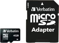 Карта памяти Micro 4GB Verbatim #43966