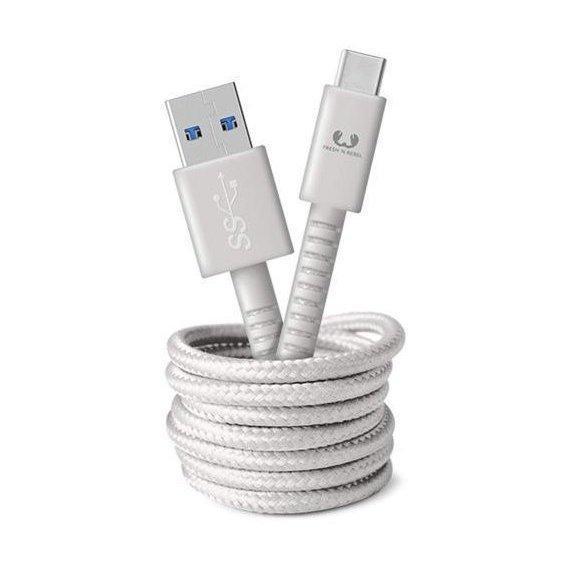 Кабель Fresh 'N Rebel Fabriq Type-C Cable 1.5м Cloud (2CCF150CL) EAN/UPC: 8718734655435