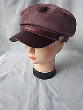 Стильная женская замшевая кепка Simona в разных цветах