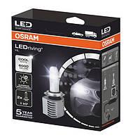 Лампа Автомобильная Светодиодная Н7 OSRAM (осрам)лед лампы (2шт)
