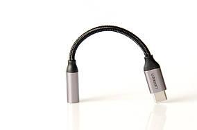 Переходник Ugreen USB Type-C - 3.5 мм, серый