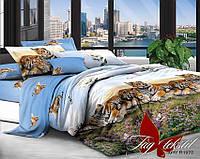 Комплект постельного белья семейный XHY1978 ТМ TAG постельное белье семейное
