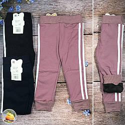 Детские спортивные брюки с мехом Размеры: 2-3,4-5,6-7 лет (9167)