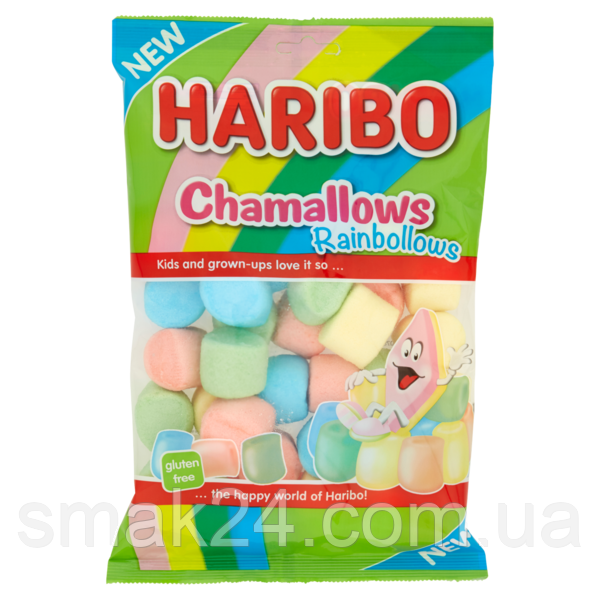 Зефир Маршмэллоу  Радужный Chamallows Rainbollows  Haribo 175 гБельгия