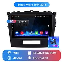 Junsun 4G Android магнитола для Suzuki vitara 2014 2015 2016 2017 2018 wifi