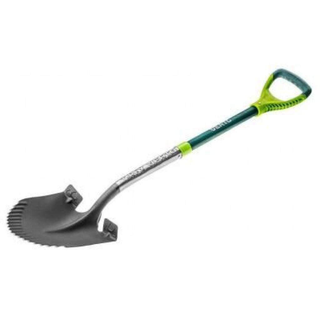 Лопата Verto штыковая T-REX, металлическая ручка (15G003)