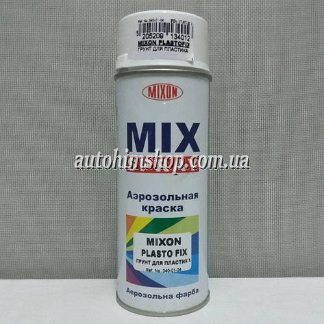 Грунт для пластика Mixon Plastofix 340 коричневый 400 мл, фото 2