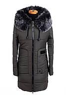 Зимние женские куртки от производителя  44-52  хаки