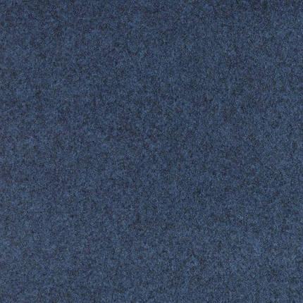 Синий износостойкий ковролин на резиновой основе Бельгия, фото 2