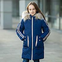 """Зимняя куртка для девочки """"Кнопки"""", фото 1"""