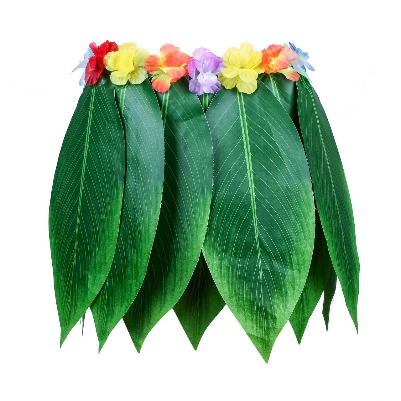 Юбка из тропических листьев (гавайская)