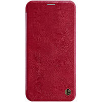 "Кожаный чехол (книжка) Nillkin Qin Series для Apple iPhone 11 Pro (5.8"")"