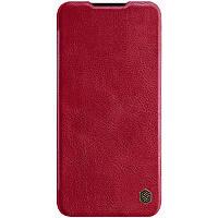 Кожаный чехол (книжка) Nillkin Qin Series для Xiaomi Mi CC9 / Mi 9 Lite