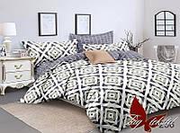 Комплект постельного белья с компаньоном S256 ТМ TAG 2-спальный, постельное белье двухспальное