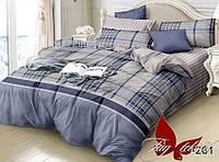 Комплект постельного белья с компаньоном S261 ТМ TAG 2-спальный, постельное белье двухспальное