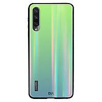 TPU+Glass чехол Gradient Aurora с лого для Xiaomi Mi CC9 / Mi 9 Lite