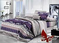 Комплект постельного белья XHY1254-2 ТМ TAG 2-спальный, постельное белье двухспальное