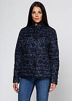 Темно-синяя женская демисезонная куртка Minority