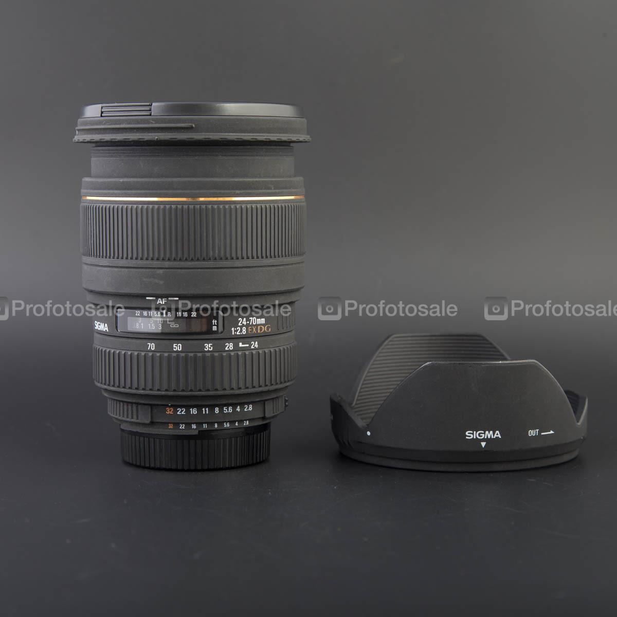 Sigma 24 - 70mm f/2.8 EX DG Macro