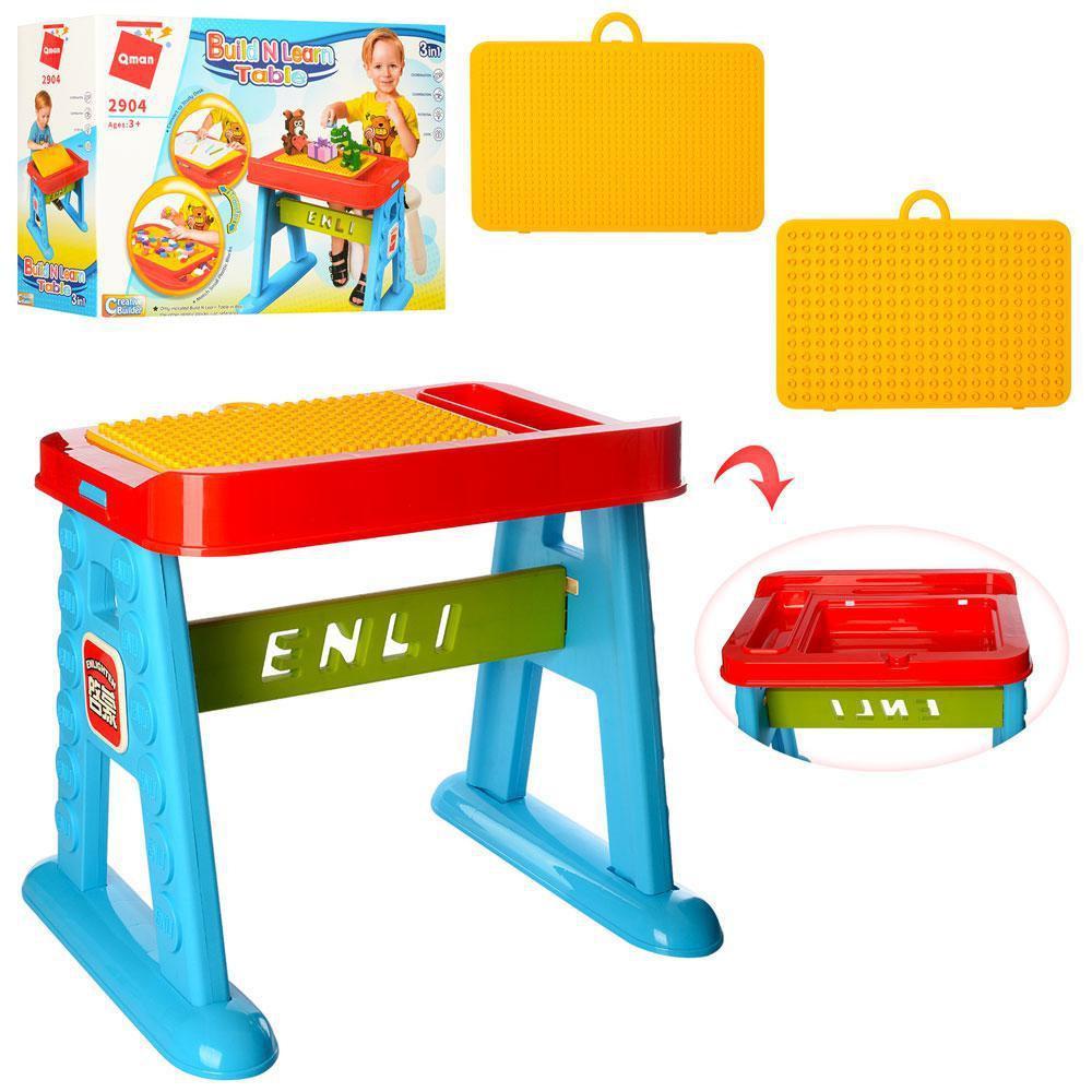 Детский стол для сборки конструкторов Brick 2904