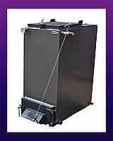 Холмова BIZON 10 квт 4 мм сталь FS-Eco. Твердотопливный котел длительного горения. Котел Бизон