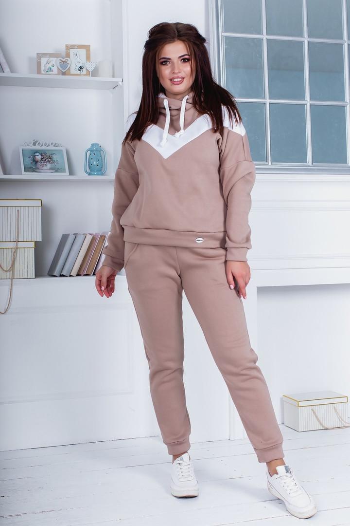 Женский теплый спортивный костюм ОС971-2 (бат)