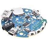 Аудіо підсилювач приймач Handsfree з Bluetooth USB Aux MP3 декодер мікрофон 3.7-5V 3Вт Багато функціональний, фото 2