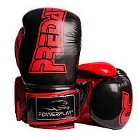 Боксерські рукавиці 3017 Чорні карбон 14 унцій R144022