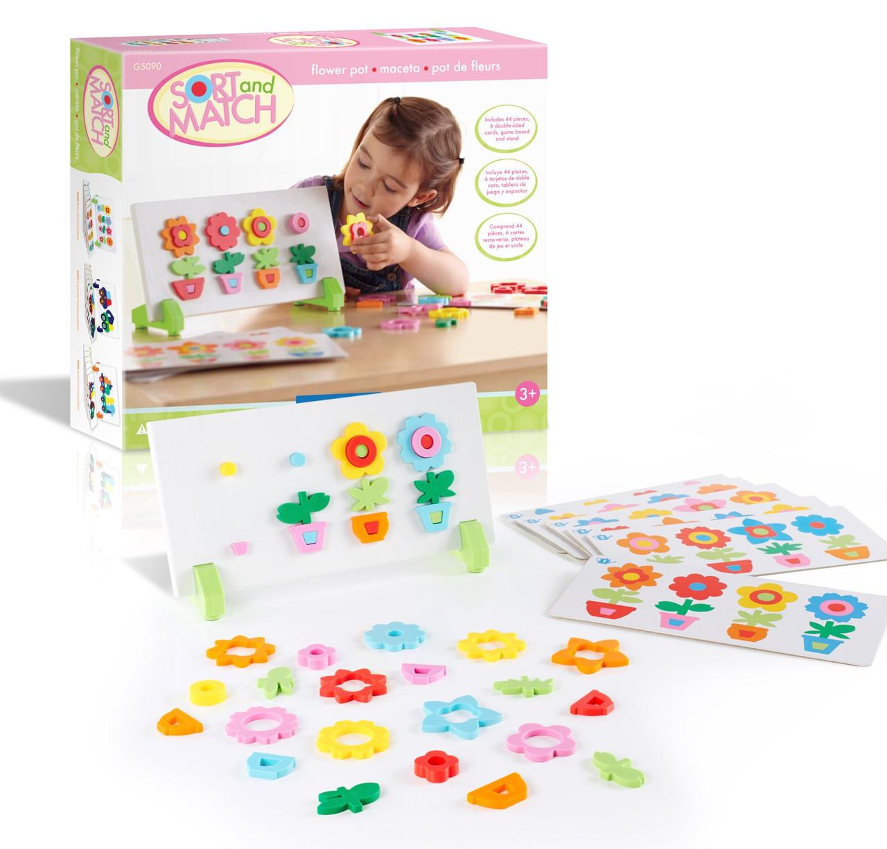 Игровой набор Цветы Manipulatives Guideсraft (G5090)