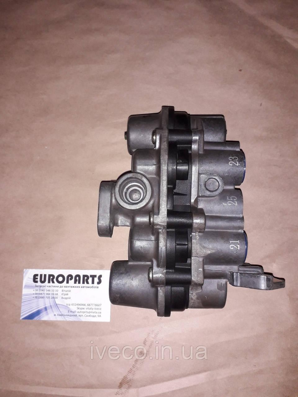 42553849 42535024 AE4502 AE4560 Кран защитный четырехконтурный Iveco Ивеко Cursor Eurotech Eurostar Trakker