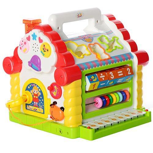 Музыкальный домик теремок сортер Limo toy 9196