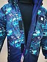 Детская зимняя куртка с меховой подстежкой для мальчика Скай размеры 116- 122, фото 8