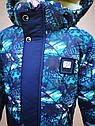 Детская зимняя куртка с меховой подстежкой для мальчика Скай размеры 116- 122, фото 10