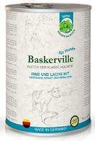 Влажный корм Baskerville Holistic лосось/говядина для взрослых собак всех пород  х 24 шт
