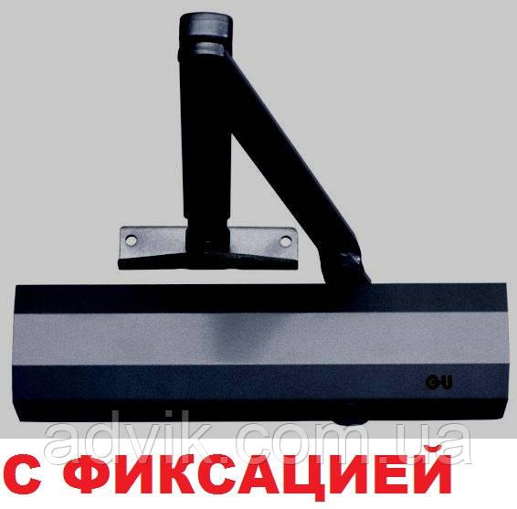Доводчик G-U OTS 430 (440) с фиксацией (черный)*