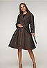 Пальто демисезонное с расклешенным низом, с 44-50 размер