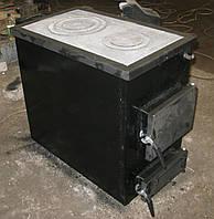 Твердотопливный котел на дровах с варочной поверхностью Максим 18 К