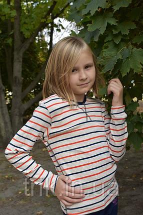 Джемпер детский полоски на светлом, фото 2