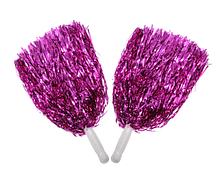 Помпони для черлідингу фіолетові