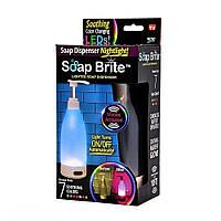 Дозатор для жидкого мыла с подсветкой Soap Bright Nightlight Soap Dispenser