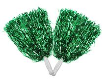 Помпони для групи підтримки зелені
