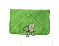Уголок для купания 75*75см Baby Ono     Польша салатовый махра 170/05/223