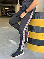 Мужские Утеплённые спортивные штаны Ellesse Черные