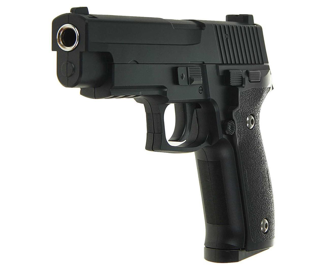 Пистолет страйкбольный G.26 с пульками в коробке 20*15*3,5см
