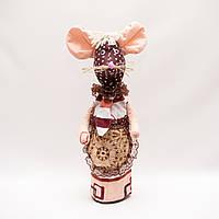 Украшение на бутылку Мышка, фото 1